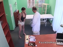 Doctor abiding fucks and records his patient