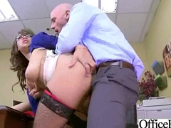(cassidy banks) Busty Office Slut Unladylike In Hard Style Bang movie-09