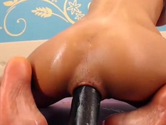 latina destroys her ass with inflatable dildo - her live show at DIRTYWEBCAMS.TK