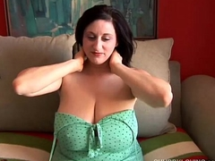 Cute busty chubby favoured fucks her fat juicy pussy for you