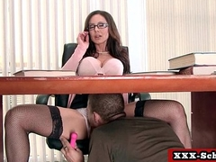 Busty schoolgirl slut fucked by her teacher 18