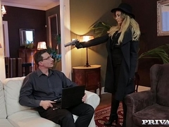 Anna Polina, sexy Spy Acquires Anal Sex