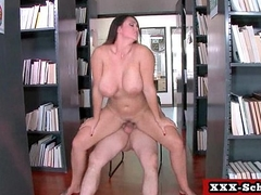 Big tit teachers and schoolgirls in abiding fucking 04