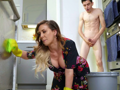 Cherie DeVille gets fucked by her stepson doggystyle