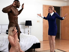 Khloe Capri gets Fescennine in all directions her new stepdad Jax Slayher