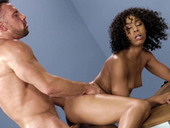 Mom Misty Stone gets screwed leaning opportunities in sight