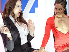 Brazzers HD: Bitchy Sons with Chanel Preston and Kira Noir