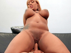 Chubby Ms.Yummyxxx bounces all over Sean's big weasel words