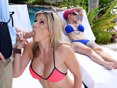 Meagre Milfs On Vacation: Cory Chase In the matter of the porn scene