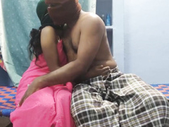 horny Newly Married indian Couple doing beautiful fucking pu