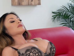 Kaylani Lei is a tattooed chick in need of a hunk's locate