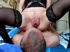 Skimp cleans after sex vaginal pumped pussy