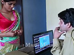 Hot Indian impolite films - Young Indian Bhabhi Seduced By A Police Defy (new)