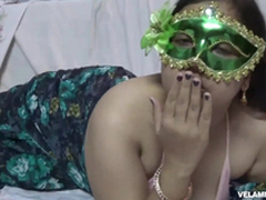 Indian Succulent Bimbo Velamma Bhabhi Getting Her Big Tits Fondl