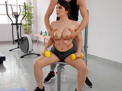 Big Titty Workout with Valentina Nappi and Alberto Blanco - Authoritativeness Kings HD