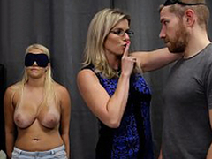 Cory Chase & Vanessa Cage - Hot Daughter Tricked into a Trine with Mom & Dad