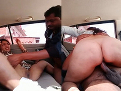 Exclusive- Titillating Bhabhi Blowjob plus Hard Fucked By Lover In Car