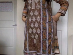 Desi XXX - Self Recorded Pakistani Sex Membrane Of Sexy Babe in arms Getting Naked