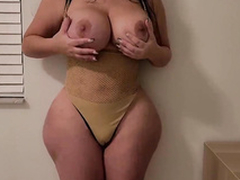 Getting tempted by my girlfriend's slutty thick MILF XXX mom