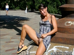 Jerk off Challenge to the beat - UPSKIRT PUSSY View more videos on befucker.com
