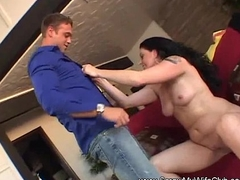 1st Time Amateur Swinger MILF